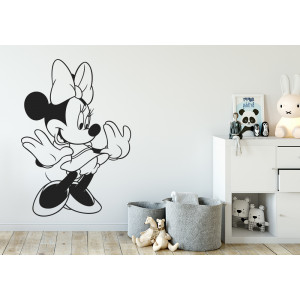 Vinilo  Minnie Mouse