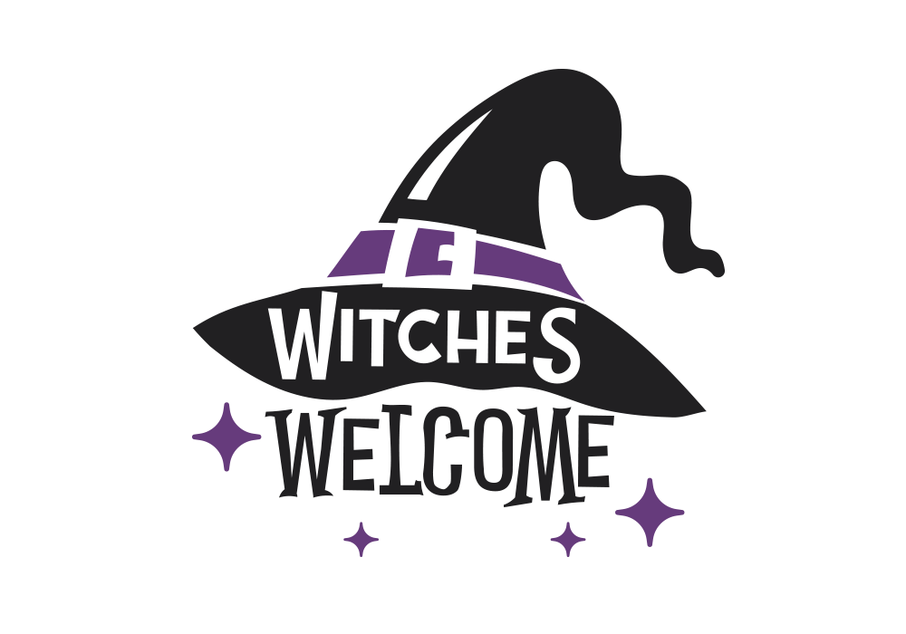 Vinilo witches welcome