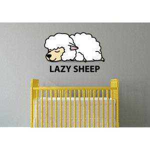 Vinilo lazy sheep
