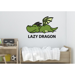 Vinilo lazy dragon