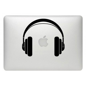 Vinilo cascos macbook