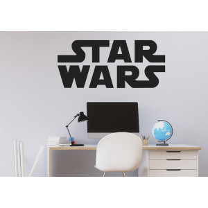 Vinilo logo Star Wars