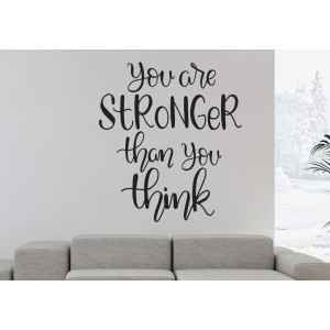 Vinilo  you are stronger than you think